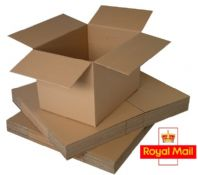 Postage Box - Royal Mail Small Parcel Size 160x160x160mm 25 Pack